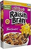 Kellogg's Raisin Bran Made With Real Fruit 18.7 Oz. Pack Of 3.