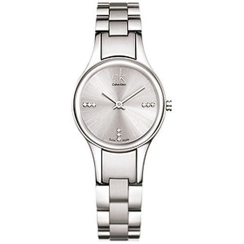 Calvin Klein Swiss Crystal Silver Ladies Watch - K4323120