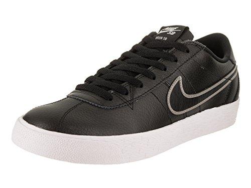 Nike Men's SB Bruin Zoom PRM SE Black/Black/MTLC/Pewter Skate Shoe 9.5 Men US