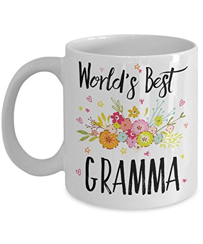 Gramma Mug - World's Best Gramma - Best Gramma Ever - A Thank You Or Appreciation Gift - Coffee Cup In 11oz Or 15oz Sizes