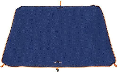 Sysmarts Picknickdecke Outdoor wasserdichte Picknick-Matte Multifunktionale Faltbare Leichte Große Tasche für Outdoor-Reisen Bergsteigen Beach Campingdecken (Blau)