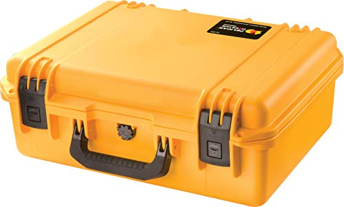 Waterproof Case (Dry Box) | Pelican Storm iM2400 Case With Foam (Yellow)