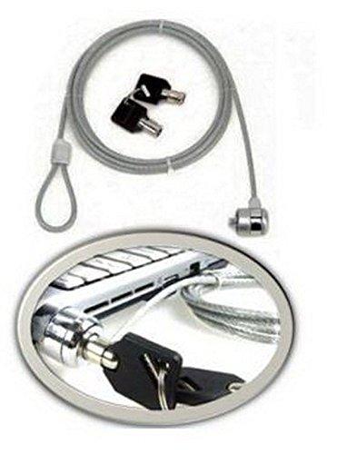 lukketto Vorhängeschloss Diebstahlsicherung für Notebook mit Schlüssel und Kabel