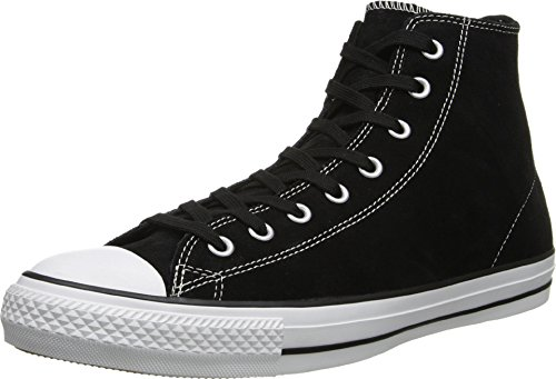 Converse Unisex Chuck Tyalor All Star Pro Hi Black/White Skate Shoe 6.5 Men US / 8.5 Women US