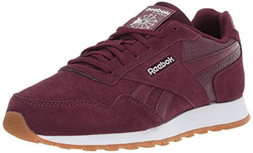 Reebok Women's Classic Harman Run Sneaker, Maroon/White/Gum, 6 M US