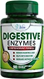 Best Digestive Enzyme Supplements - Support Digestion with Essential Super Digestive Enzymes Lipase Amylase lactase Protease - Helps Defend Against Gas Bloating and Abdominal Discomfort
