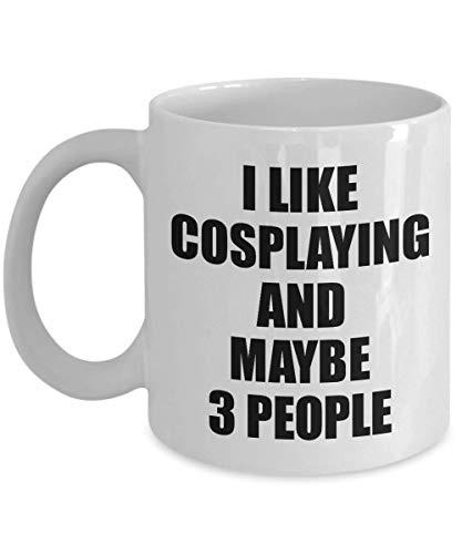 Cosplaying Mug Lover I Like Funny Gift Idea For Hobby Addict Novelty Pun Coffee Tea Cup