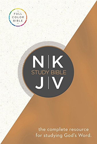 NKJV Study Bible, Hardcover, Full-Color Edition