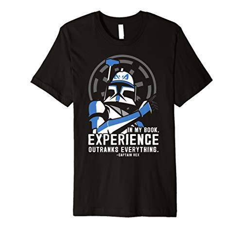 Star Wars Clone Wars Captain Rex Experience Premium T-Shirt]()