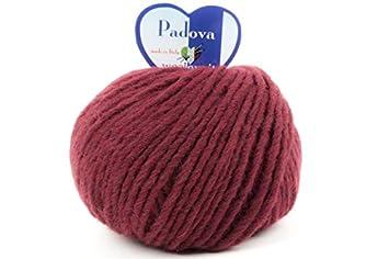 woolove Padova filato in Alpaca e Lana per lavoro a maglia.10 Azzuro Polvere Telaiando