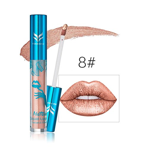 Creazy New Holographic Lip Gloss Metallic Diamond Lasting Li