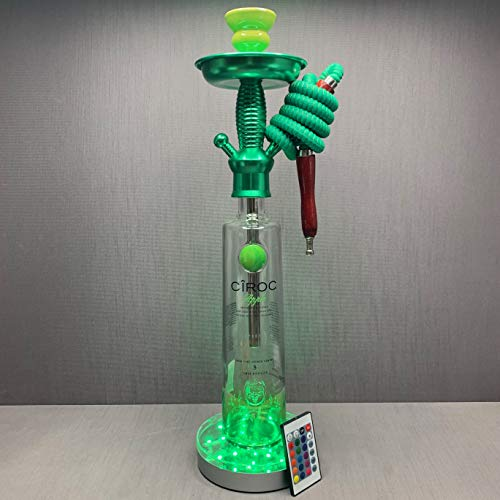 Ciroc Vodka 1L Bottle Hookah Apple with LED Stand and Remote