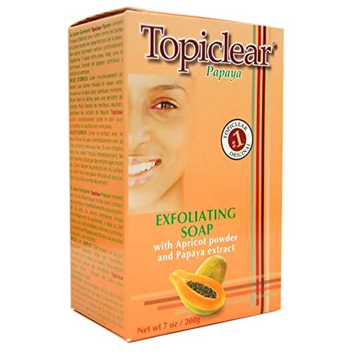(Topiclear Exfoliating Soap, Papaya, 7 oz.)