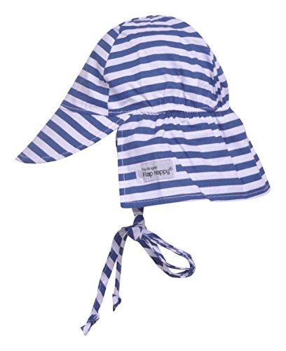 - Original Flap Hat with Ties | Hampton Stripe Small
