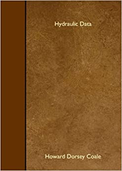 Book Hydraulic Data