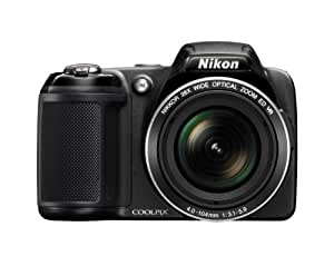 Nikon COOLPIX L810 16.1 MP Digital Camera with 26x Zoom NIKKOR ED Glass Lens and 3-inch LCD (Black) (OLD MODEL)