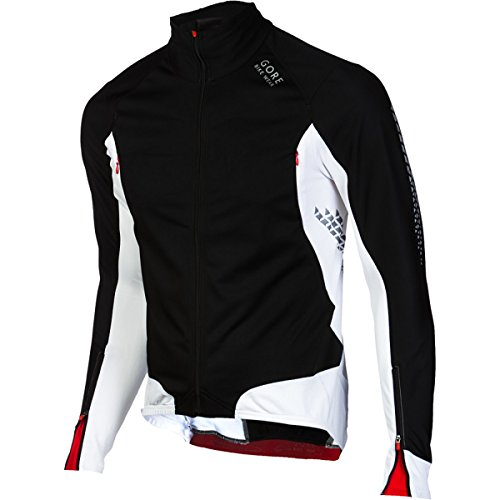 Gore Bike Wear Xenon 2.0 SO Jersey - Long-Sleeve - Men's Black/White, XXL by Gore Bike Wear