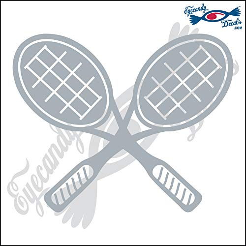 - Eyecandy Decals Tennis Racquets Crossed 6