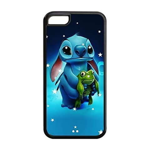 iPhone 5c Case, iPhone 5c cover Case, Lilo & Stitch Ohana TPU Fashion Case for iPhone 5c Cover Screen (Disney Cell Phone Cases Iphone 5c)
