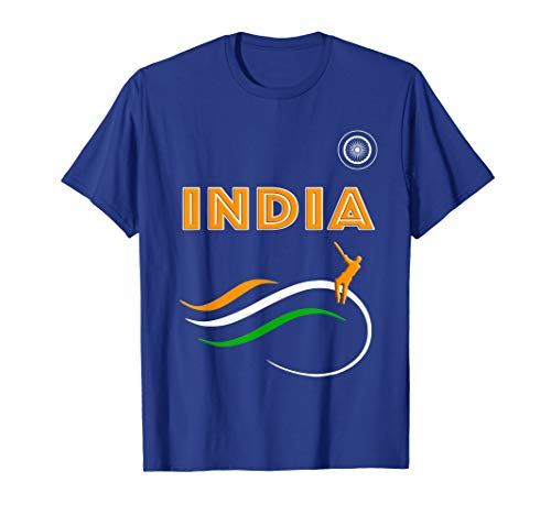 India Cricket Team Jersey patriotic t-shirt ()