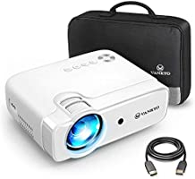 VANKYO Leisure 430 Mini Beamer, 5000 Lumen Heimkino Beamer, Support 1080P Full HD mit 60000 Stunden LED, kompatibel mit...