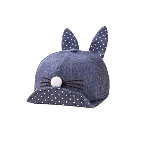 fb1d13465412eb Cherry's baby Summer Newborn Toddler Girl Boy Rabbit Ear Cat Baby Hat Kids  Cat Caps Snapback