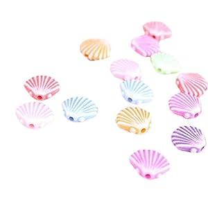 10X milopon decorazione Micro Paesaggio Mini Giardino In Miniatura oceano guscio in resina per casa delle bambole Mobili per casa delle bambole Mobili da giardino arredamento giardino 1 spesavip