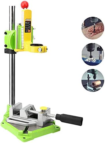 Naroote Woodworking Accessory Drill Stand, Drill Press Work Station Drill Bracket, Industry for Electric Drill
