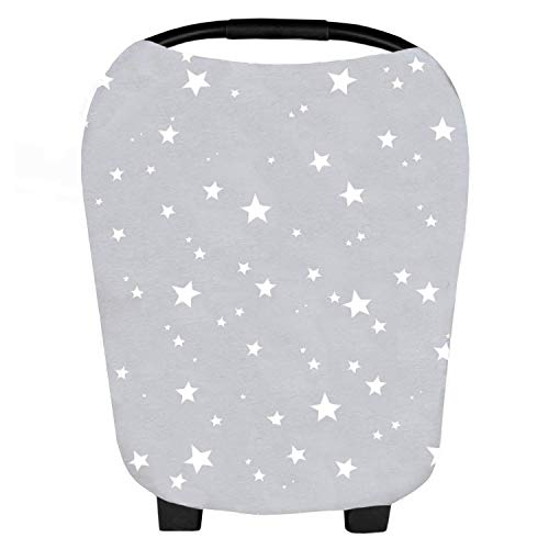 (Baby Car Seat Cover & Multi-Use Nursing Cover 5 in 1 Canopy