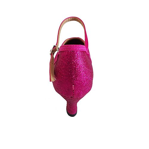 Toe T de Salón Cerrado Baile el Q T Personalizado Zapatos de para Mujer en Melocotón Moderna melocotón Danza vrvpqn