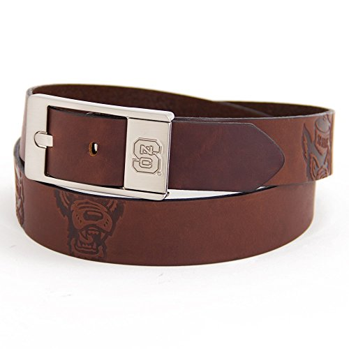 North Carolina State University Brandish Leather Belt (36)