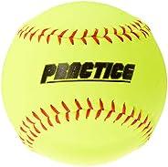 SSG 5PSBY11 Practice Softball, One Dozen (Yellow)