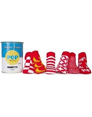Minnie Love Socks - Red, 0-12 Months