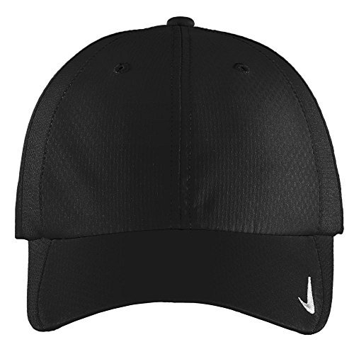 Nike Authentic Sphere Quick Dry Low Profile Swoosh Embroidered Adjustable Cap - Black