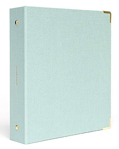 russell+hazel Dew Bookcloth Mini 3 Ring Binder