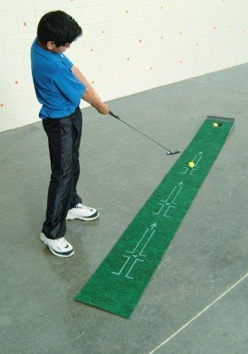 THE ACCELERATOR 72403092354 Tough Putting Teacher Golf Mat, 8.38″ Height, 8.88″ Width, 12.75″ Length