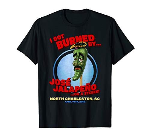 Jose Jalapeno On A Stick North Charleston, SC T-Shirt (Best Tours Charleston Sc)