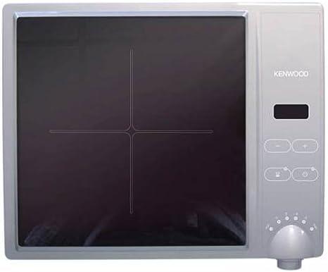 Kenwood IH100 - Placa de vitrocerámica, 1800 W, temperatura de 120 grados, 25 centímetros de diámetro, base de cocción: Amazon.es: Hogar