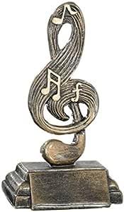 Trofeo Musical Premio Musical Pack de 5 Unidades 19 cm Grabado Trofeos Personalizados Concursos de Música Premios Musicales: Amazon.es: Deportes y aire libre
