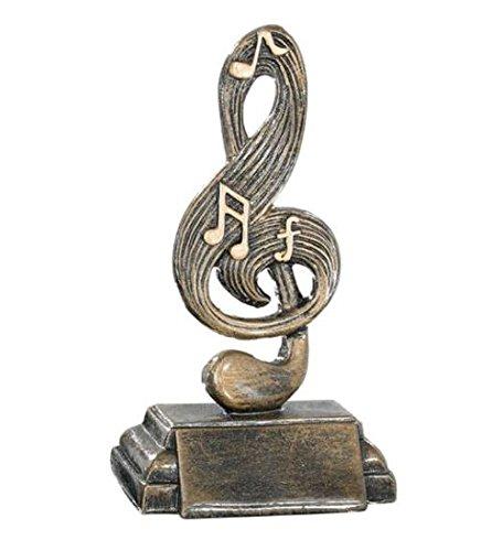 Trofeo Musical Premio musical 19 cm GRABADO Trofeos PERSONALIZADOS Concursos de Música Premios Musicales: Amazon.es: Hogar