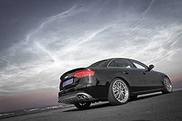 JMS Race Look Trasero difusor para Audi A4 B8 con Forma de S Line: Amazon.es: Coche y moto