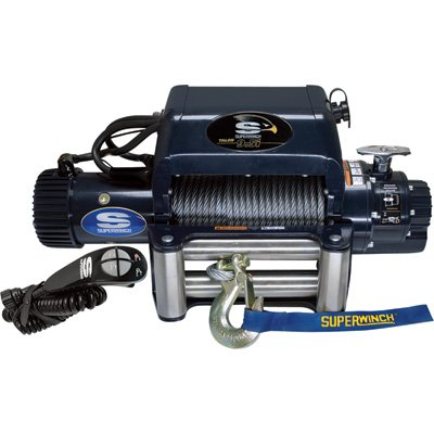 Superwinch 1695210 Talon 9.5i, 12 VDC winch, 9,500 lb/4,309 kg capacity with roller fairlead (Roller Superwinch)