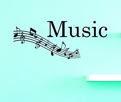 Design with Vinyl US V JER 3595 2 Top Selling Decals Music Wall Art Size 14 Inches X 28 Inches Color Black 14 x 28