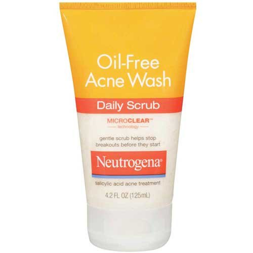 Price comparison product image Neutrogena Oil-Free Acne Wash Daily Scrub 4.2 oz -- 12 per case.