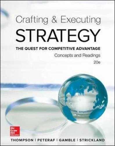 Crafting and Executing Strategy: Concepts and Readings]()