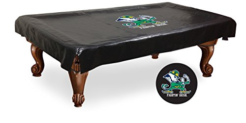 NCAA Notre Dame Fighting Irish Leprechaun Billiard Table Cover, 8-Feet