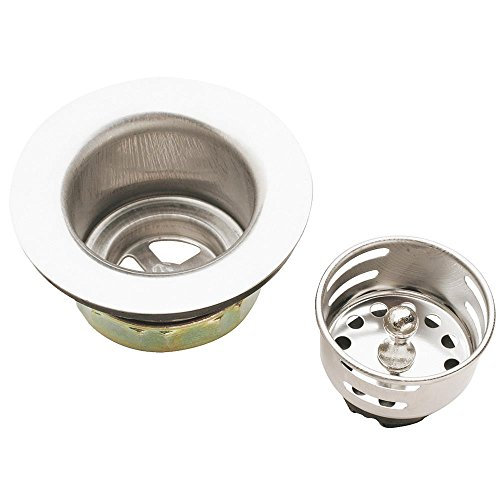 Keeney 878PC Bar Sink Strainer, Stainless ()