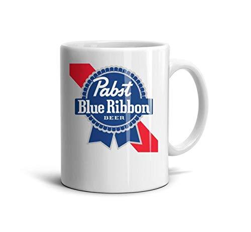 FGBLK Daily Use Reusable Espresso Tea Cup White Souvenir Funny 11 Oz Large Travel Coffee Mug for Dad Boyfriend Girlfriend Women Girls Mom ()