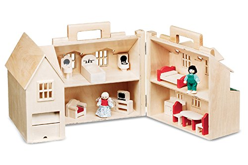 Wooden Toy House - 8