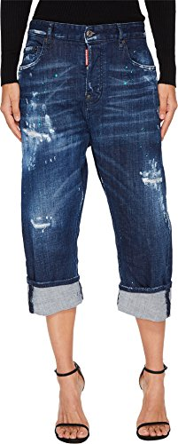 DSQUARED2 Women's Kawaii Medium Stiched Wash Jeans In Blue Blue 42 27